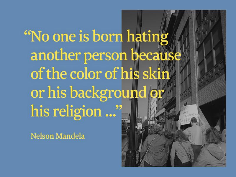 Nelson Mandela Quote By Dillon Vrosh Dribbble Dribbble