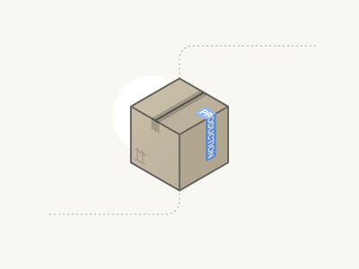 Box cardboard box