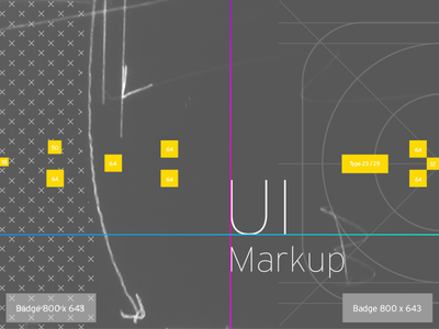 UI Markup ux ui markup annotations typography