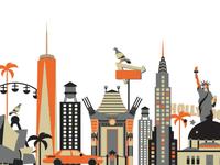 New York > Los Angeles