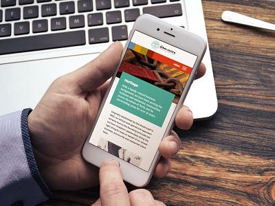 Arbor Centre – mobile view tree roots arbor ui mobile web design brand identity design