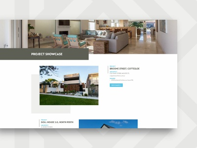 Kelvin Brooks Building – website, showcase page home builder clean sophisticated b k ui web design brand identity design