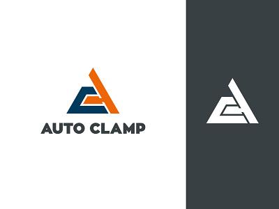 Auto Clamp – logo clamp monogram ac triangle logo design