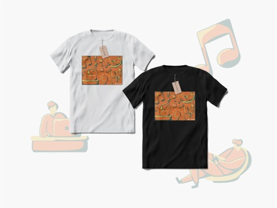 T-shirt design contest with the concept of working at home t-shirt illustration t-shirt mockup t-shirt design illustrator illustration art graphic design design