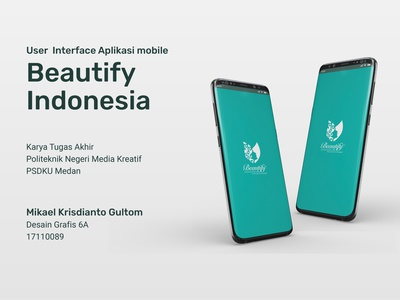 Beautify Indonesia Mobile App User Interface Design app mobile app design mobile ui smartphone uidesign userinterface mobile app ux ui graphic design design