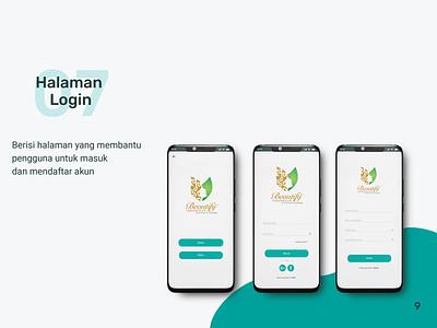 Beautify Indonesia Mobile App User Interface Design app user interface design user interface mobile app design mobile design mobile app mobile ui ux ui graphic design design