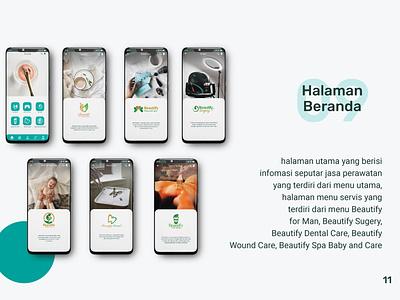 Beautify Indonesia Mobile App User Interface Design userinterface mobile design mobile app design mobile app mobile ui mobile app ux ui graphic design design