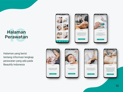 Beautify Indonesia Mobile App User Interface Design user interface design user interface mobile app design mobile design mobile app mobile ui mobile app ux ui graphic design design