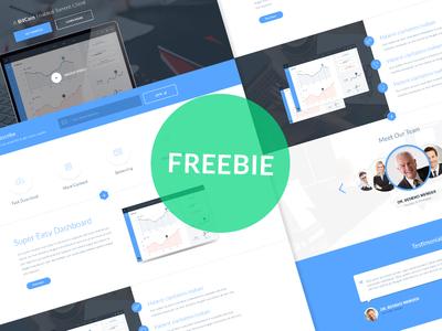 [FREEBIE PSD] Landing Page 'WOWStream'