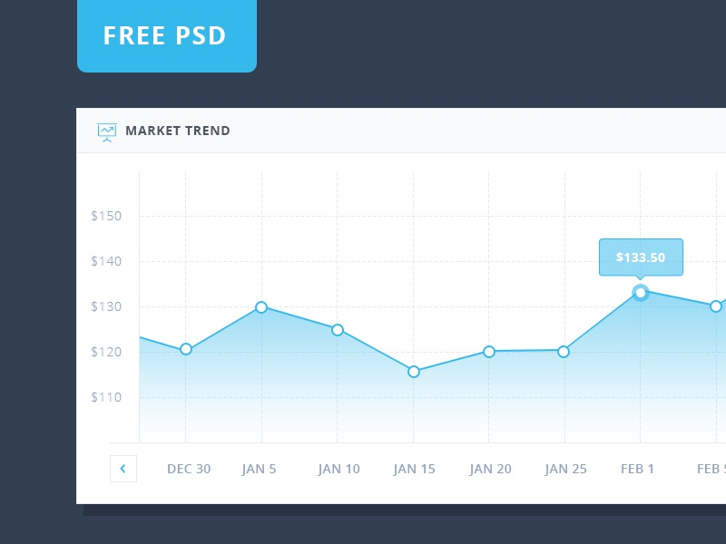 FREE PSD Graph Design elegant modern clean free template psd freebie free stat chart graph ux ui