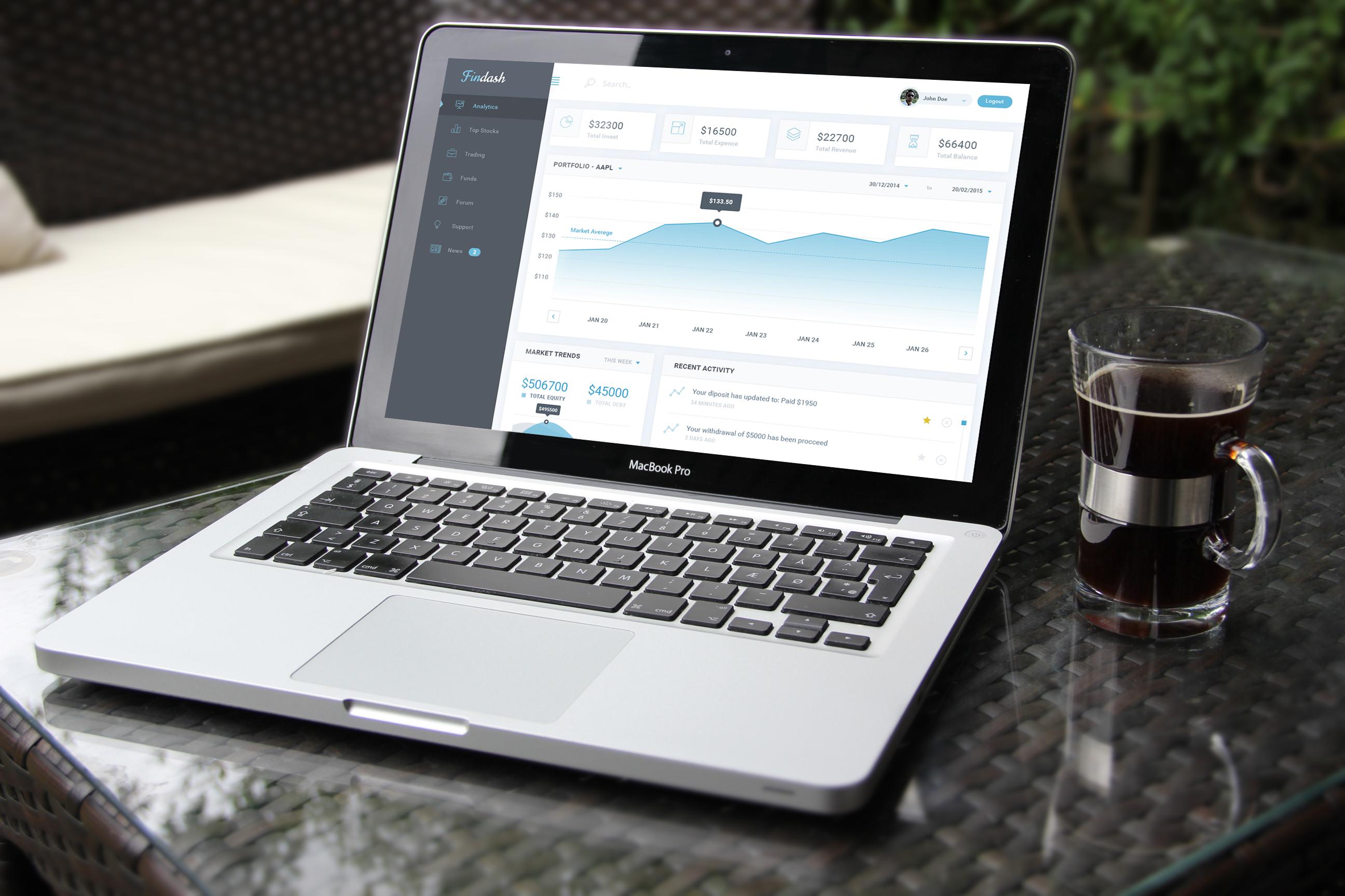 Macbook mockup recovered