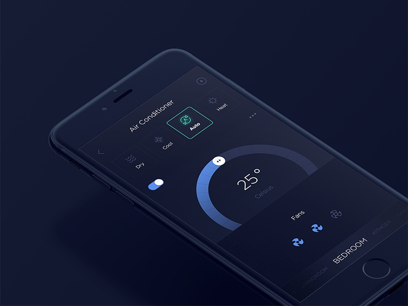 Smart Home Air Conditioner Controller By Imran Khan On