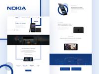 NOKIA 6 Landing Page Re-Design