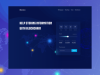 ICO website Header