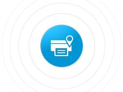 HP Printer Setup printer installer remote wireless printing ripple icon button