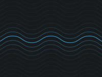 Neon Waves Background