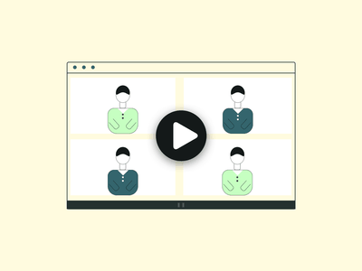 Video call sketchapp minimal design vector illustration