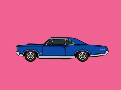 Auto Icons 08 - Pontiac GTO gto pontiac iconic car automobile