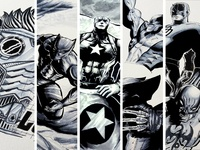 Marvel Comic Illustration