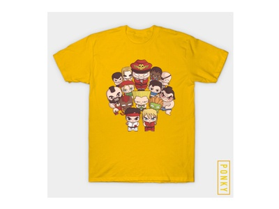 Street Fighter Tshirt Design