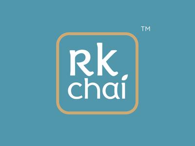 R.k Tea Branding design identitydesign illustration logo minimal branding tea