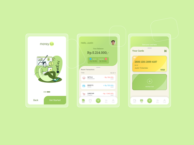 Moneylu - Simple UI Money Lover Exploration figma money mobile app design design ux ui