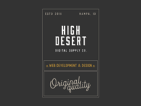 High Desert Digital Supply Co.