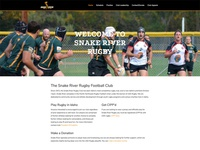 Snake River Rugby Update