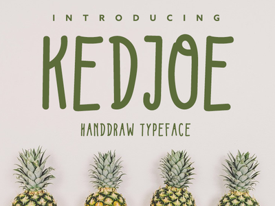 Kedjoe Font vector lettering typography font collection font design font bundle simple font simpel font awesome organic handdraw typeface type font