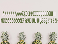Kedjoe Font ( International Glyph )