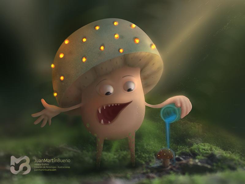 Papá Hongo forest mushrooms hongo snurf