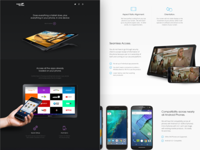 Super Screen Landing Page