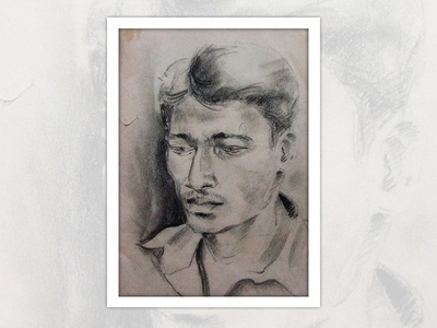 Sketching with Charcoal - Portrait Drawing