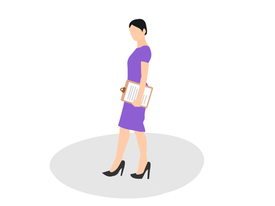 Business Women Illustrations