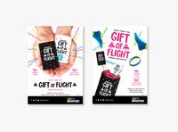 Gift of Flight Xmas Poster