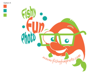 Fishy Fun Photo Logo for Photographer