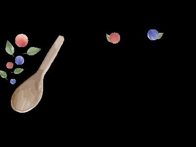 Lirim Ipsum watercolor goodlife illustration lettering design logo