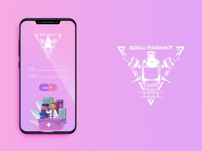 Log in design minimalistic minimalist design design app apple illustration app design log in ui minimal design vector illustrator