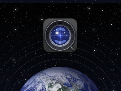 AstroCantus space ios mobile app design iphone icon