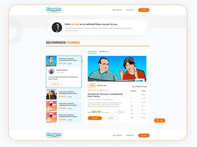online courses web ui design