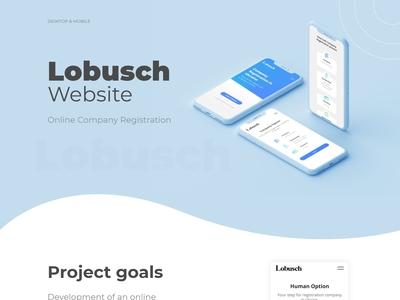 Lobusch Website