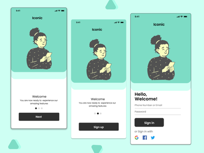 Mobile App UI clean ui sign in sign in page ui design trendy design sign up form sign in ui form sign in form mobile sign up form mobile sign in