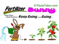 Fertilizer Bunny