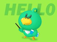 Parrot teacher