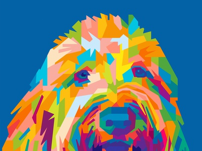 PET COMMISSION animals illustrated animals logo animals pets pet commision work commision commission open commission commissioned illustration abstract design colors colorful abstract art popart geometric beautiful abstract wpap