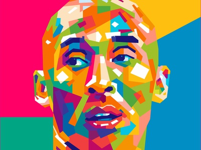 KOBE BRYANT ball basket basketball michael jordan jordan kobe bryant kobebryant sports illustration abstract design colors colorful abstract art popart geometric beautiful abstract wpap