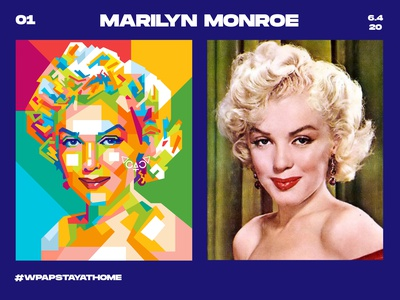 DAY 1 girls monroe marilyn marilyn monroe fiverr designer fiverr design illustration abstract design colors colorful abstract art popart geometric beautiful abstract wpap