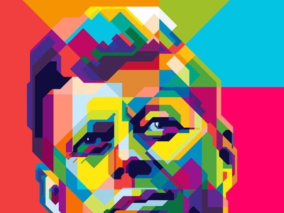 JOHN F KENNEDY design colors colorfull color abstract design geometric beautiful wpap pop art abstract art abstract popart presidents day president john f kennedy