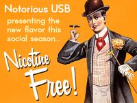 Nicotine-Free USB