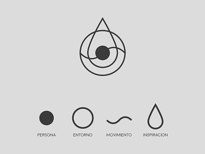 South American Inspired vector logo design branding 2d